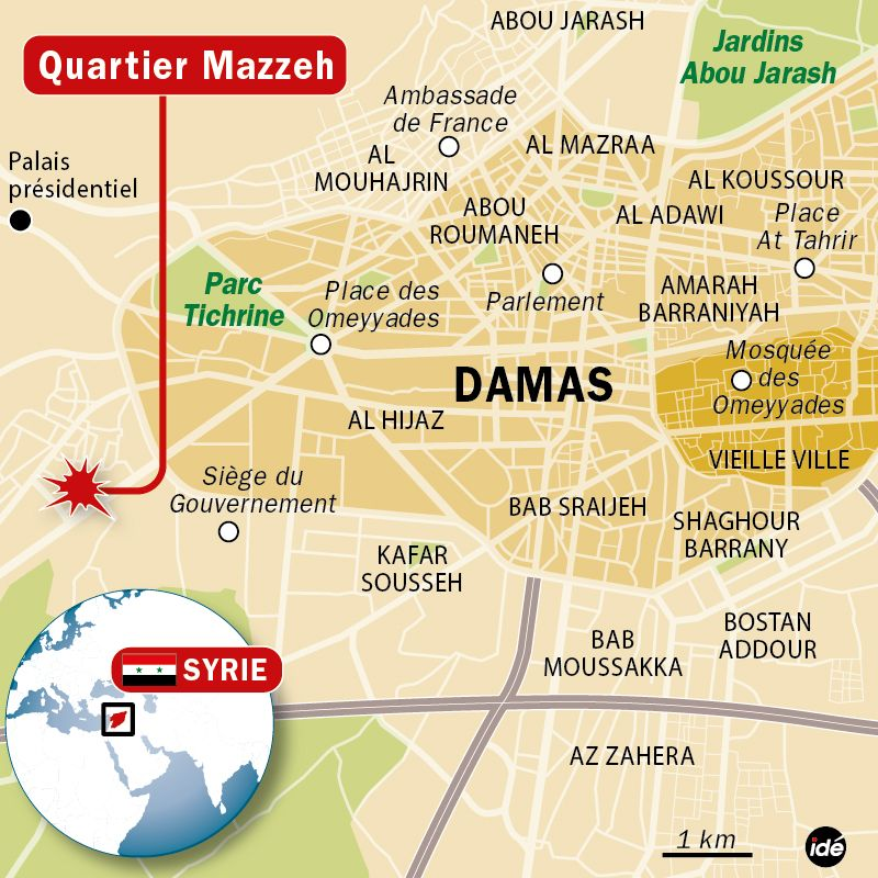 LM - SYRIA les 4 offensives (2013 04 29) FR  2