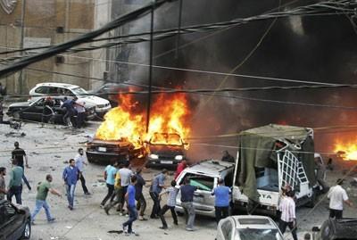 LM - attentat à Beyrouth (2013 07 10) FR 2