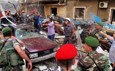 LM - attentat à Beyrouth (2013 07 10) FR 3