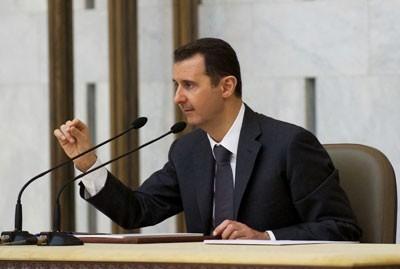 SYRIA - baath party renovation (2013 07 08) FR 1