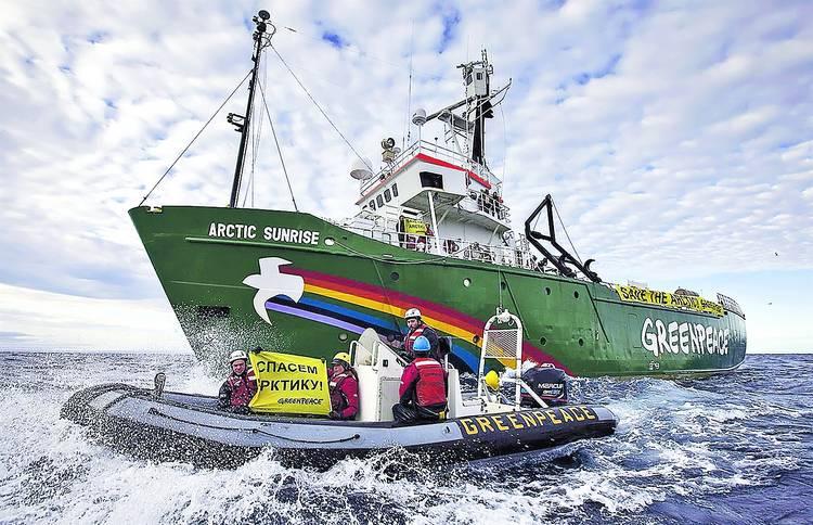 LM.NET - EN BREF greenpeace et l'Arctique (2013 09 25) FR