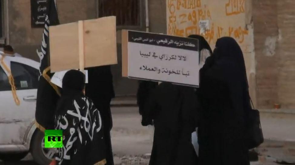 ELAC - JAMAHIRIAN TV militias rally in Benghazi (2013 10 13) ENGL 2