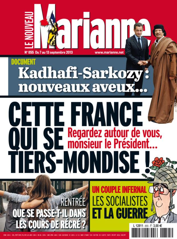LM - ELAC libye. nouveau témoin contre Sarkozy (2013 11 30) FR 2