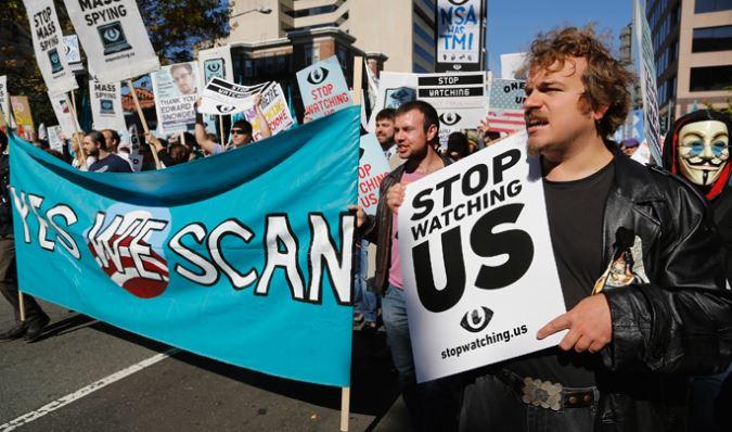 PCN-TV - manif anti NSA a washington (2013 10 27) FR