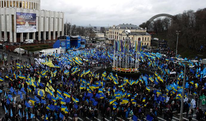 LM.NET - EN BREF new color revolution in Ukraine (2013 12 01) IT