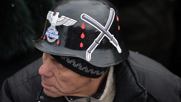 PIH - LM libe Maidan fasciste (2014 01 24) FR 3