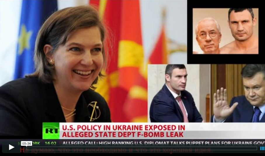 PCN-TV - Nuland and the maidan puppets (2014 02 07) ENGL