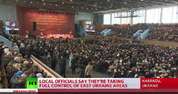 PCN-TV - Ukraine Congress of eastern regions (2014 02 22) ENGL