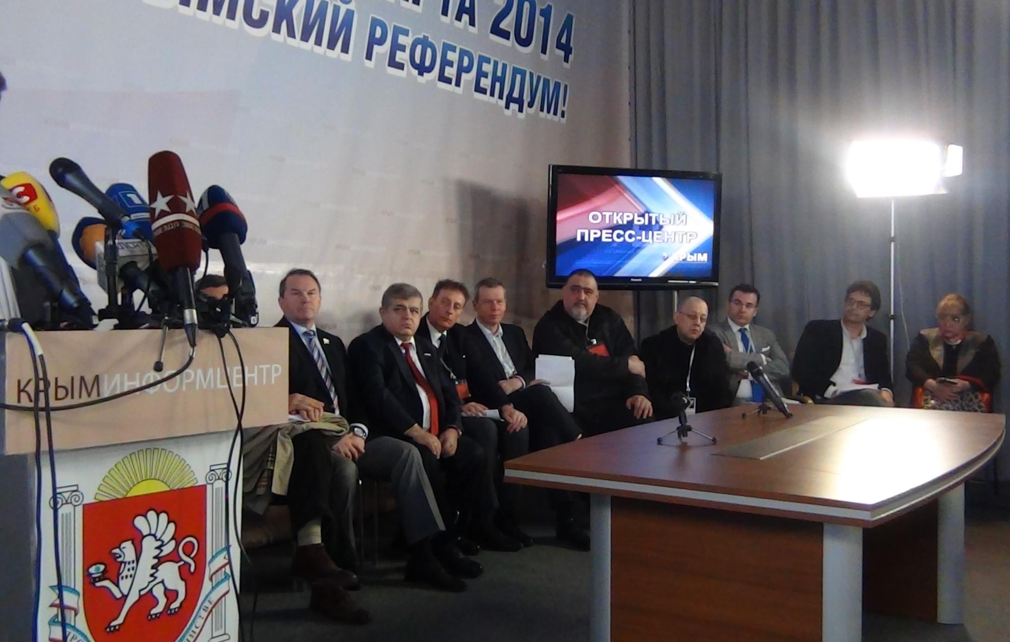 EODE - Mission en Crimée et désinformation (2014 03 17) ENGL