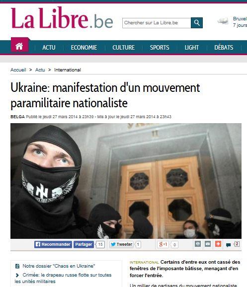 EW - LM praviy sektor veut le pouvoir (2014 03 28) FR 2