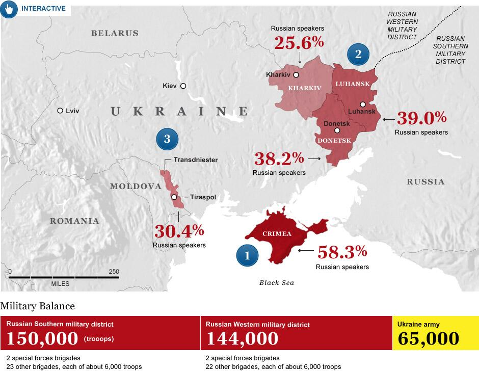 EODE - LM Poutine veut neutraliser Ukraine Moldavie (2014 03 31) FR 2