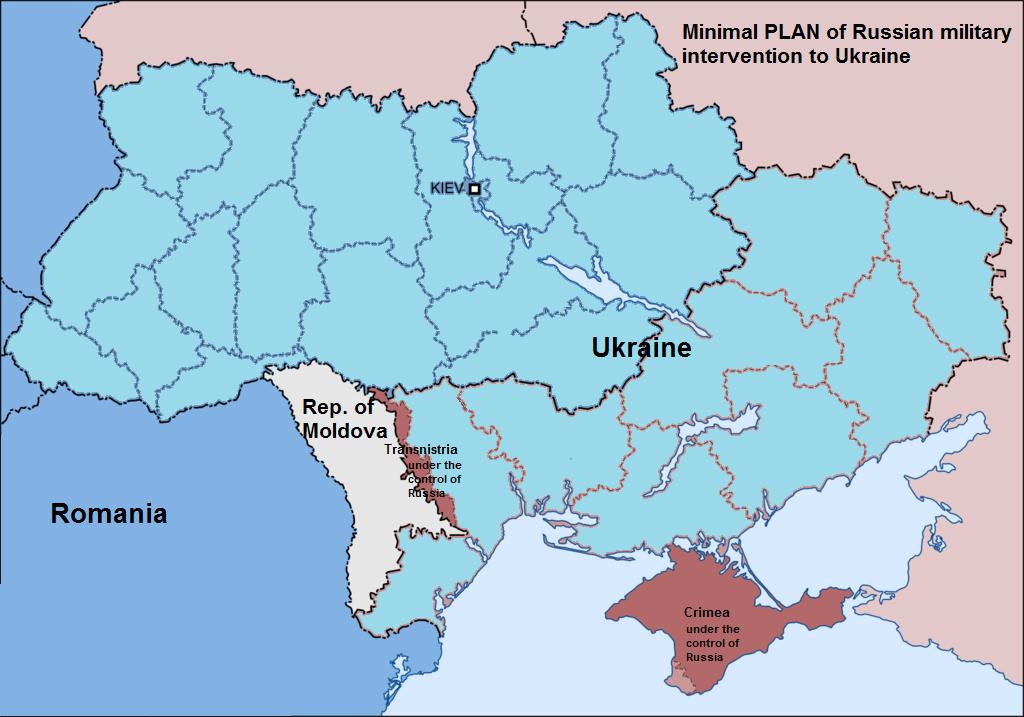 EODE - LM Poutine veut neutraliser Ukraine Moldavie (2014 04 03) ENGL 2