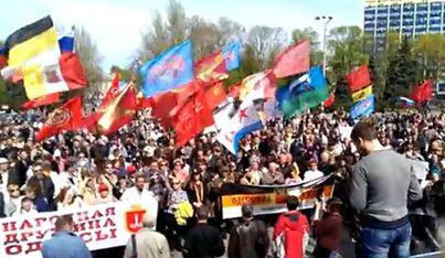 PCN-SPO - mobilisation à l'est ukrainien (2014 04 20) FR 1