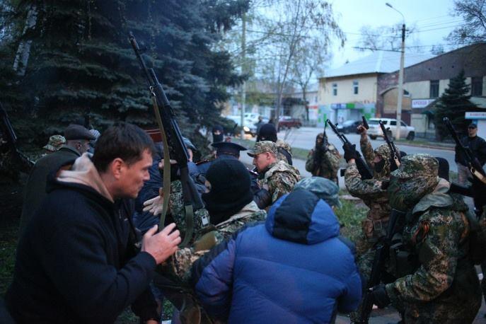 PIH - LM & FB arm+йe du Donbass (2014 04 15) FR (4)