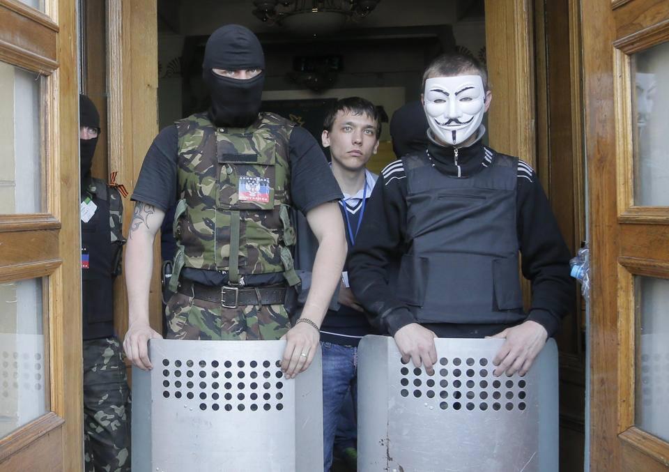 PIH - LM Ukraine prise de la TV de donetsk (2014 04 28) FR