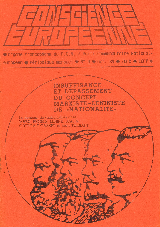 PCN TIMELINE - 1984 le pcn réinvente l'Eurasisme (2014 05 30) FR
