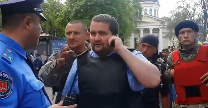 PCN-TV - Praviy Sektor organise le massacre d'Odessa (2014 05 04) FR + RU