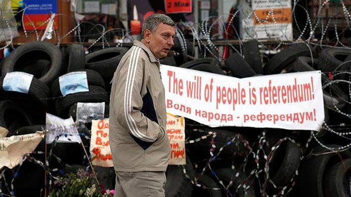 PIH - OUI massif au Referendum du Donbass (2014 05 12) FR 1