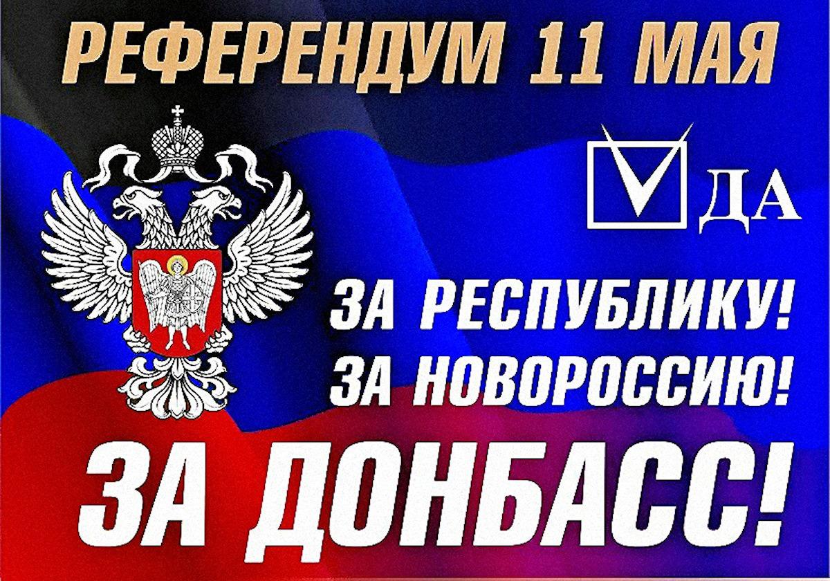 PIH - OUI massif au Referendum du Donbass (2014 05 12) FR 2