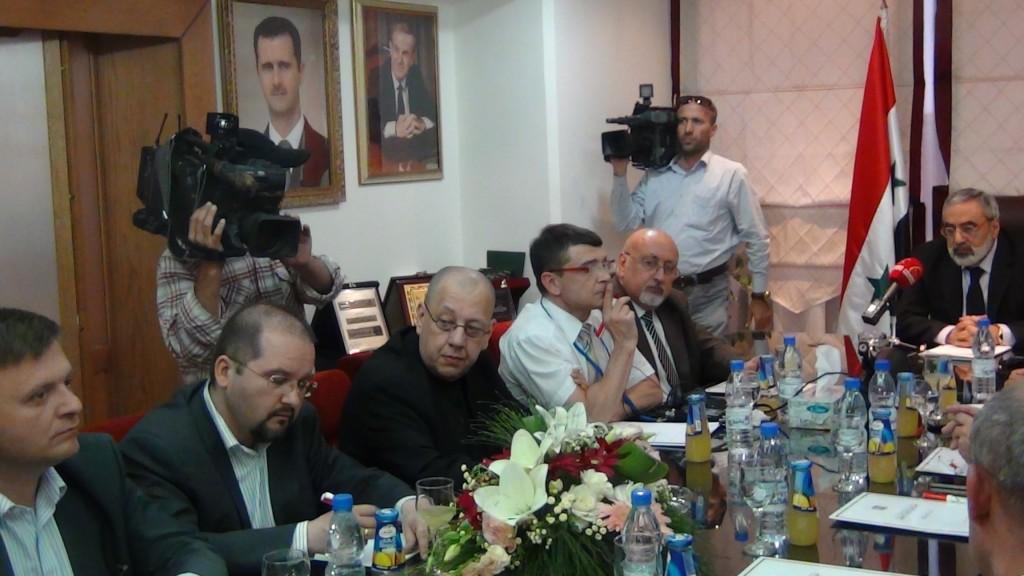 EODE PO - Mission d'EODE à Damas pour la présidentielle (2014 06 01) FR