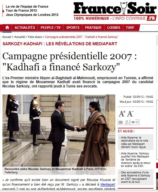 LM.NET - EN BREF sarko la vengeance de Kadhafi (2014 07 03) ENGL