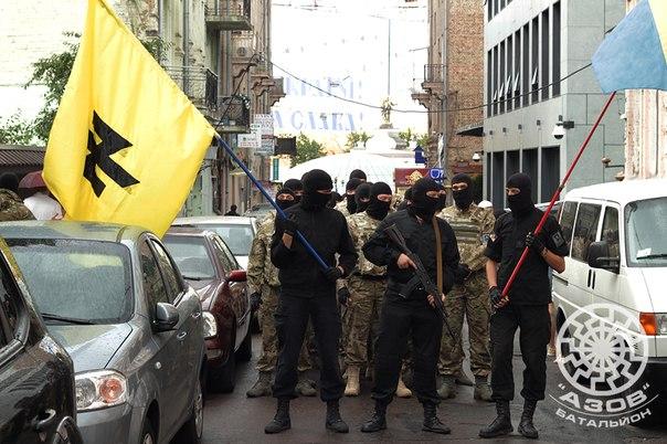 PCN-SPO - Bataillon Azov en Ukraine (2014 07 21) FR 2