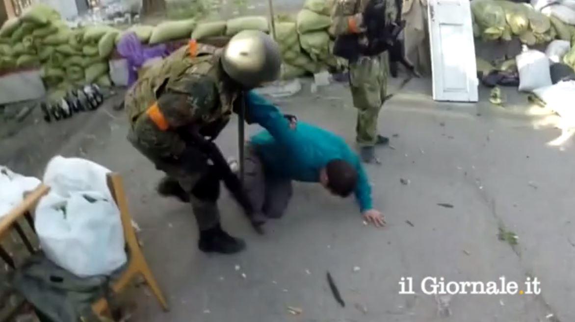 PCN-TV - Bataillon Azov Il Giornale (2014 07 22) FR 2
