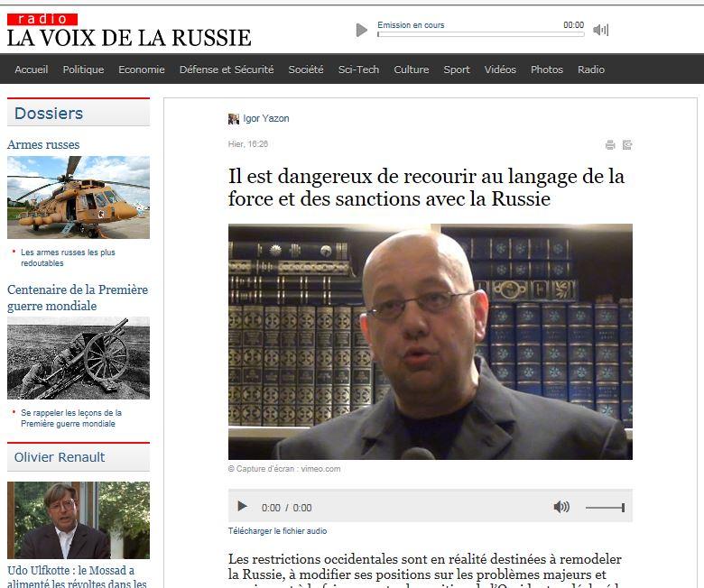 EODE PO - LM sur LVDLR usa versus russia (2014 10 22) FR 2