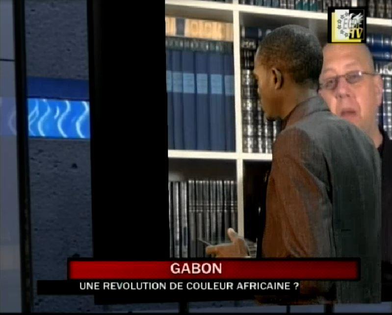 EODE-TV - LE GRAN JEU gabon révolution de couleur (2014 12 12) FR (1)