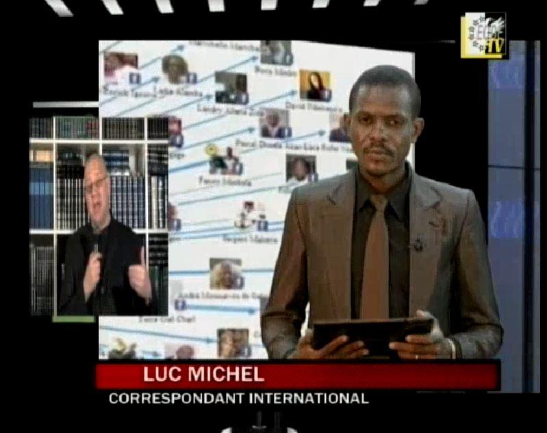 EODE-TV - LE GRAN JEU gabon révolution de couleur (2014 12 12) FR (2)