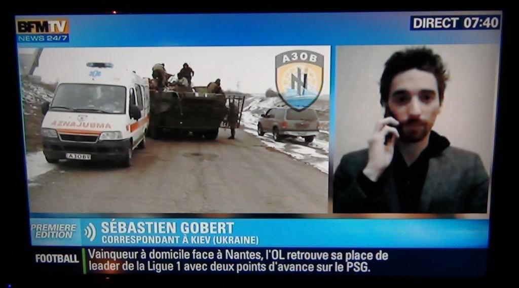 NOVO - BFMTV avec Azov (2015 02 23) FR