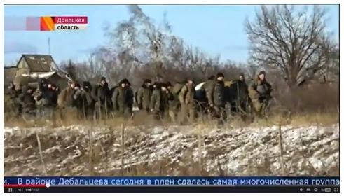 NOVO - debacle ukr. a Debaltsevo (2015 02 18) FR