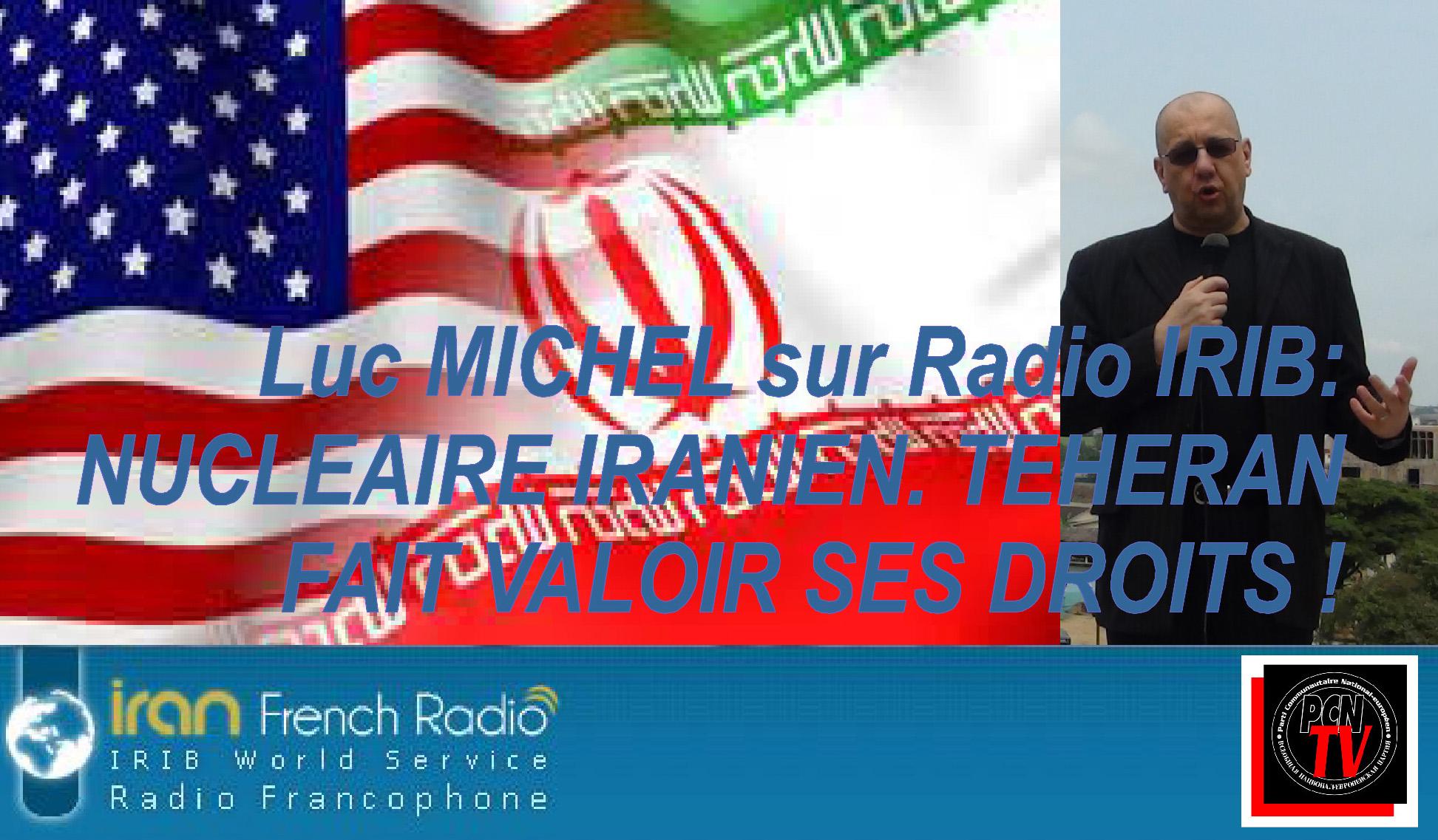 PCN-TV - LM sur IRIB nucleaire iranien (2015 02 13) FR