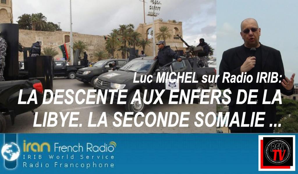 PCN-TV - LM sur IRIB somalisation libye 2015 (2015 02 23) FR