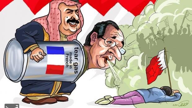 LM.NET - EN BREF la france et la repression au bahrein (2015 03 07) FR