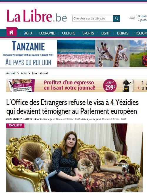 LM.NET - EN BREF sureté et yézidies (2015 03 27) FR