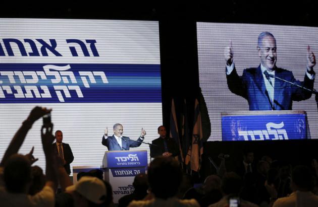 LE LIKOUD DE NETANYAHU REMPORTE LES LÉGISLATIVES ISRAÉLIENNES