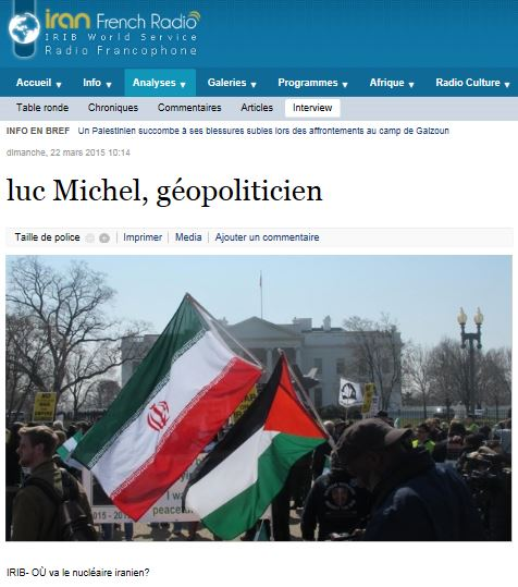 PCN-TV - LM sur IRIB ou va le nucleaire iranien (2015 03 22) FR 2