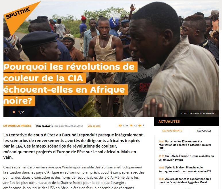 EODE PO - BML sur Sputnik.fr et Burundi (2015 05 17)  FR 2