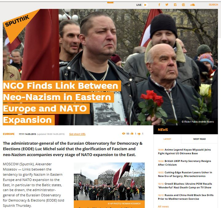 EODE PO - LM on Sputnik News (2015 05 14) ENGL