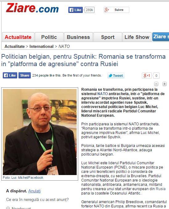 PCN-SPO - Maneuvres US en Roumanie (2015 05 20)   ENGL (2)