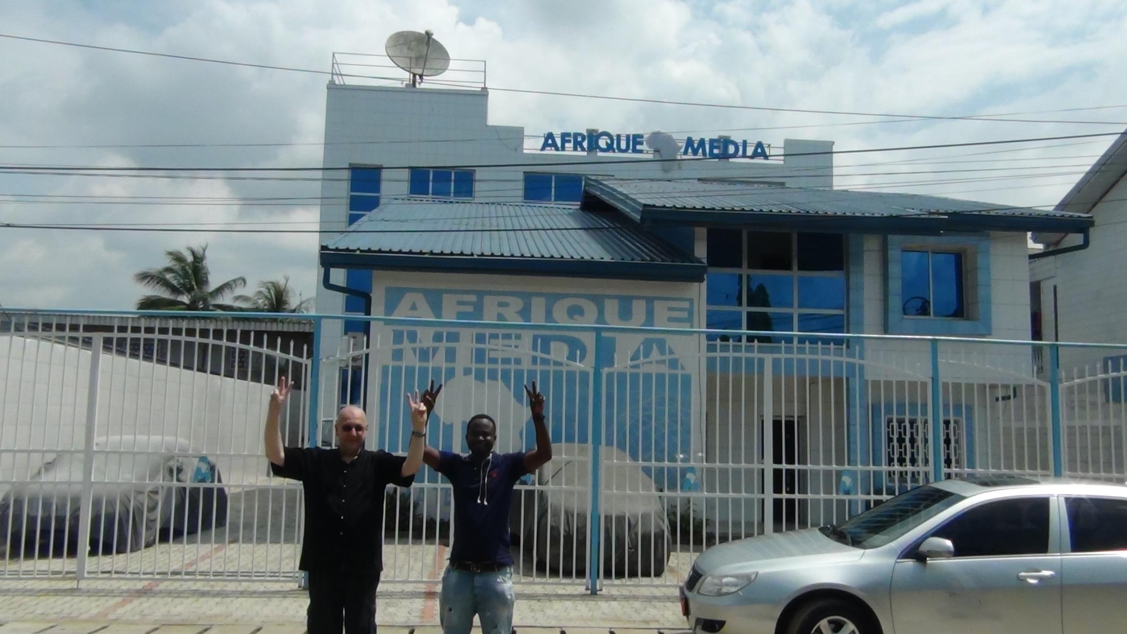 AMTV - AM2016 tour de Douala (2015 11 23)  FR (1)