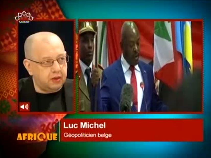 PANAF-TV - SAHARTV LM sur Burundi (2015 11 12) FR