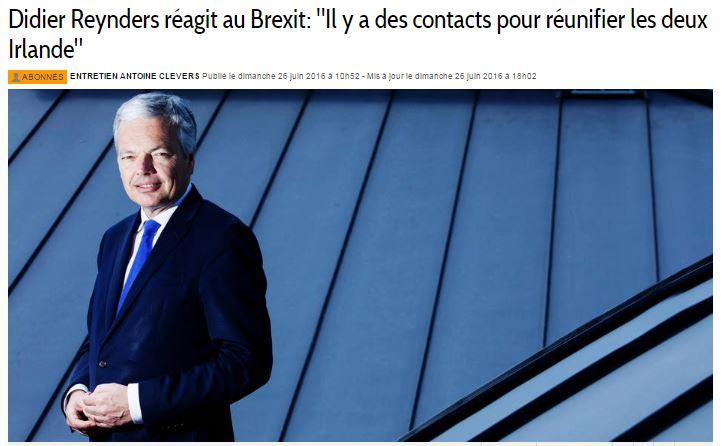 REP - LM brexit ecosse irlande belgique (2016 06 27) FR