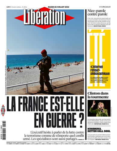 LIBE FRANCE GUERRE