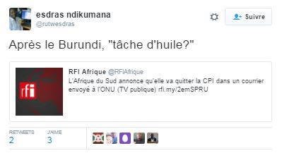Burundi CPI Exit
