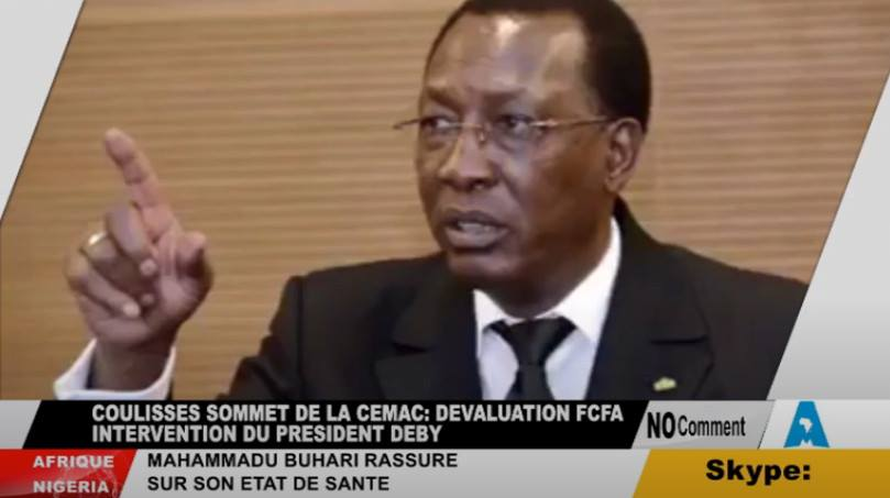 Idriss-Deby-Itno-CEMAC-CFA