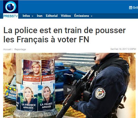 LM SUR PRESS TV - REPORTAGE presidentielle francaise I (2017 02 18)
