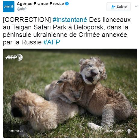 AFP Russophobie