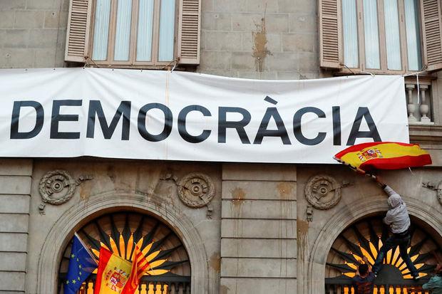 Catalogne  Democracia